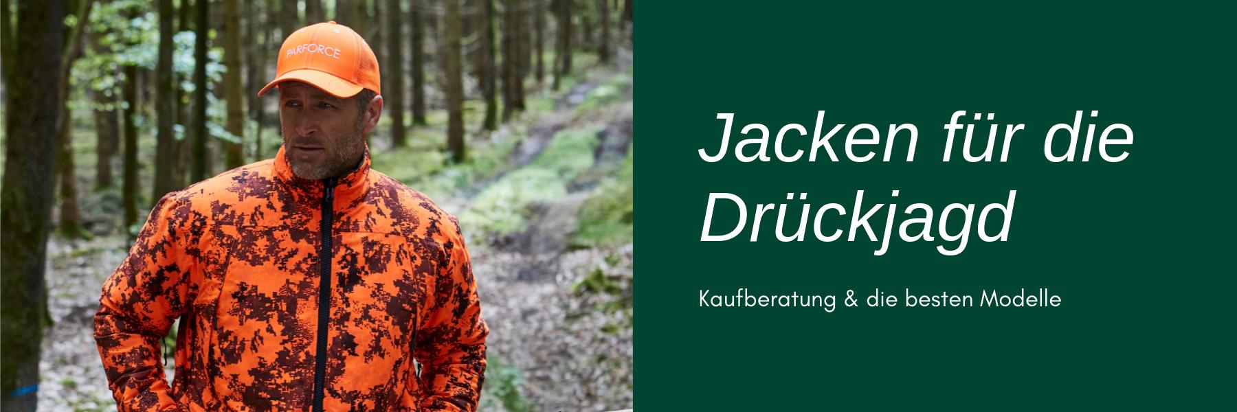 Drückjagd Jacke - Die besten Modelle und Kaufberatung