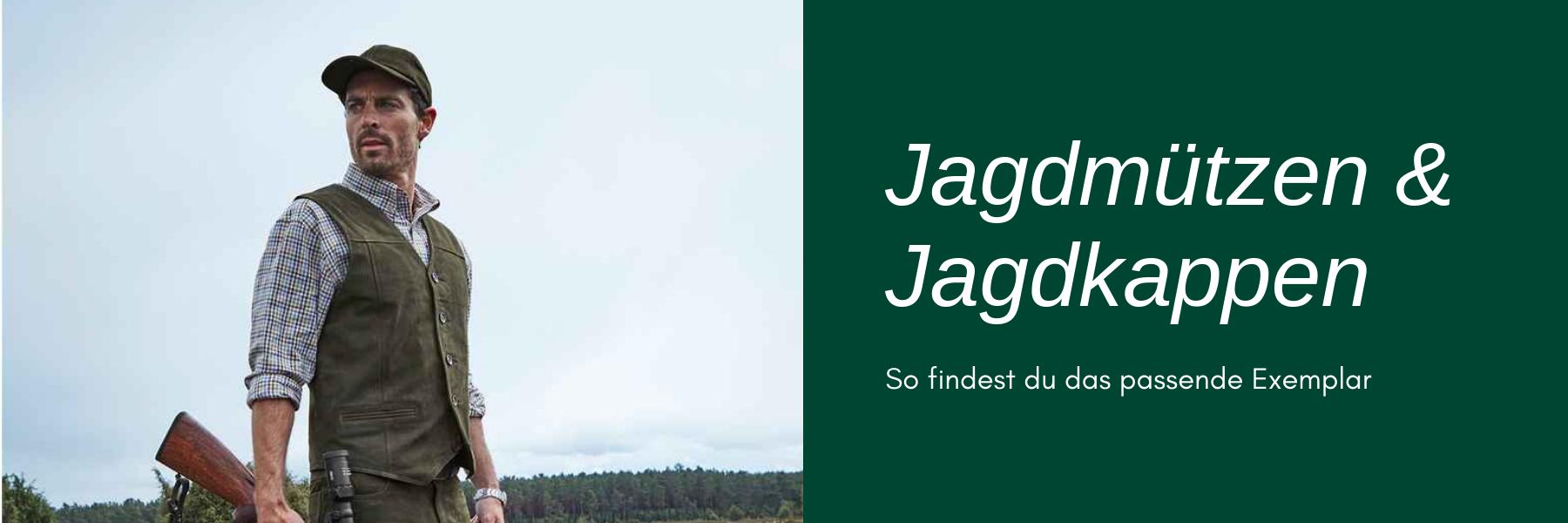 Jagdmütze & Jagdkappe - Kaufberatung & Modelle