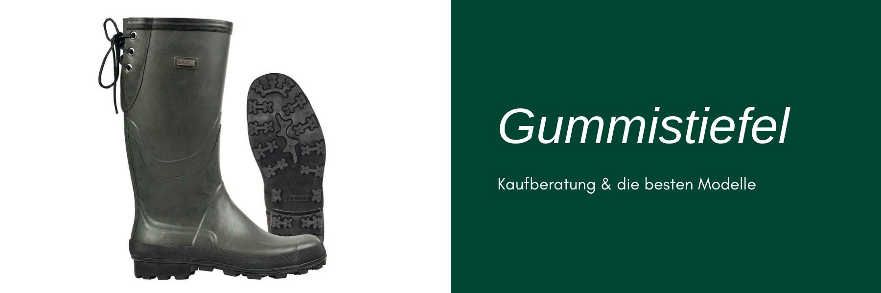 Jagd-Gummistiefel günstig kaufen - Kaufberatung und Modelle