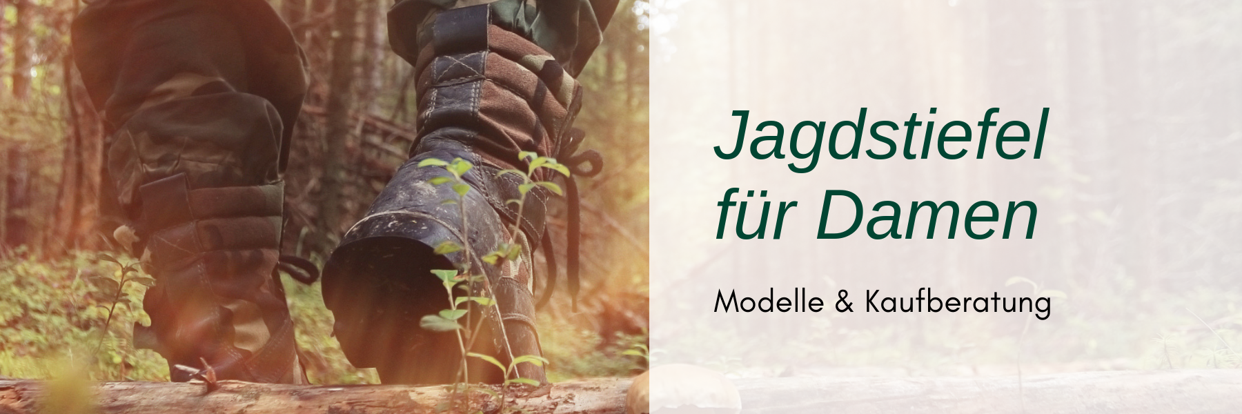 Jagdstiefel für Damen - Modelle & Kaufberatung