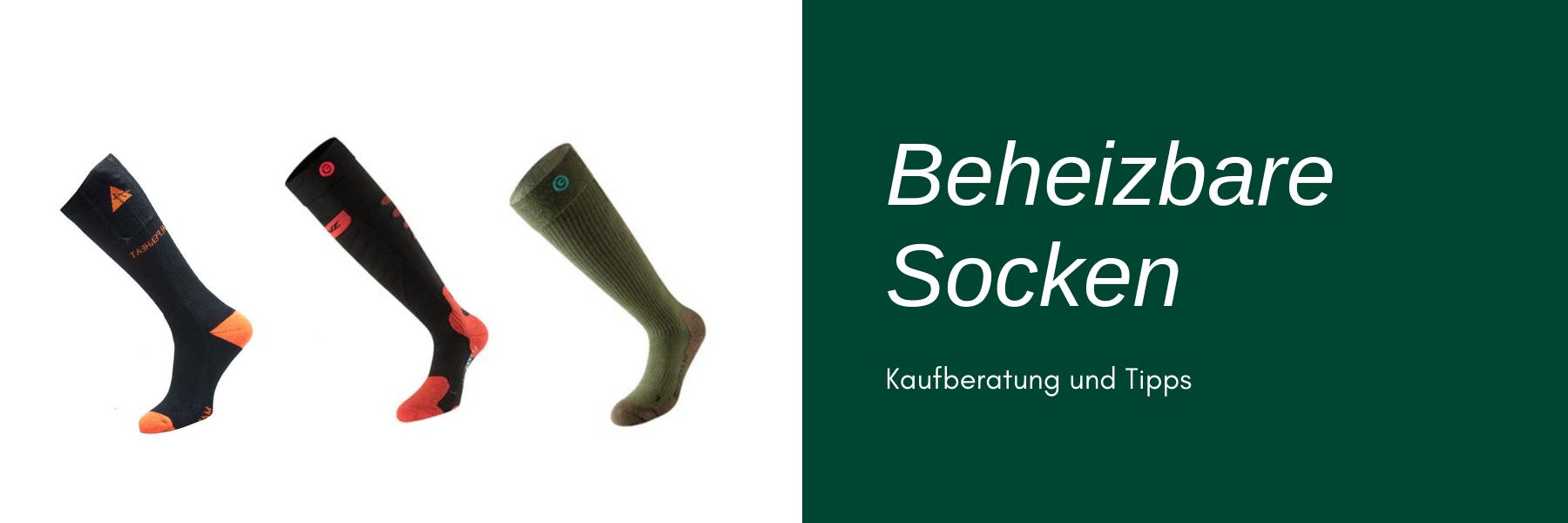 Beheizbare Socken - Kaufberatung und Tipps